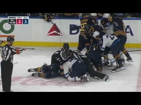 Gotta See It McCabe absolutely levels Laine with bone crushing hit