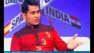 Jahan interview at Ekushe television