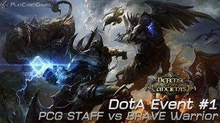 DotA Thailand : Event - PCG Staff vs Brave Warrior #1