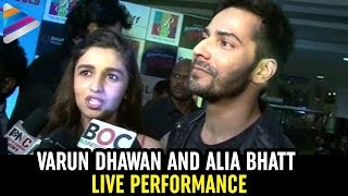Varun Dhawan and Alia Bhatt live performance @ Humpty Sharma Ki Dulhania Promotion - Bollywood News