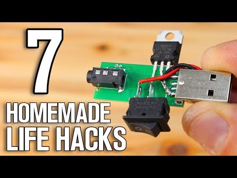 Xxx Mp4 7 Homemade Projects 7 DIY Life Hacks 3gp Sex