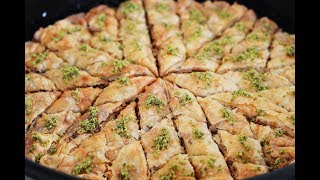 Classic Turkish Baklava Recipe (Making Dough & Top Tricks)