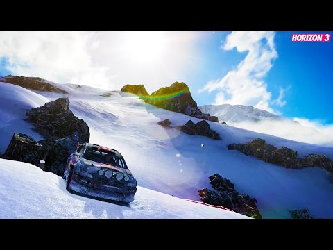 SNOWDAY Epic Cars & Snow Forza Horizon 3 Funny Moments and Fails