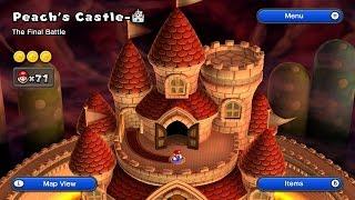 New Super Mario Bros U - Peach's Castle Final Castle