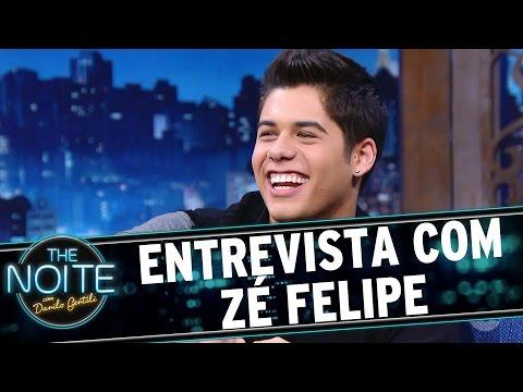The Noite (07/09/16) - Entrevista com Zé Felipe