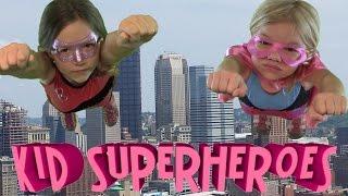 Kid Superheroes!  part 1 of 2