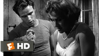 A Streetcar Named Desire (2/8) Movie CLIP - The Napoleonic Code (1951) HD