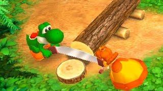 Mario Party The Top 100 - Yoshi &  Daisy vs Wario & Luigi 2 vs 2 Minigames| Cartoons Mee