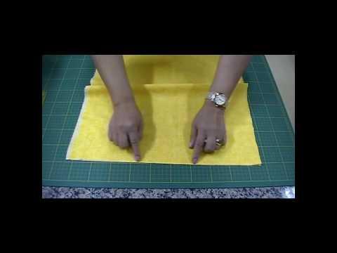 Dica Ana Cosentino Como preparar passar e cortar os tecidos