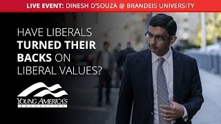 Dinesh D'Souza LIVE at Brandeis University