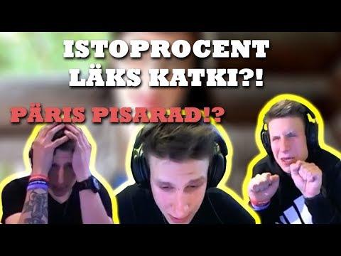 ISTOPROCENT LÄKS KATKI?! || #TEAMISTO