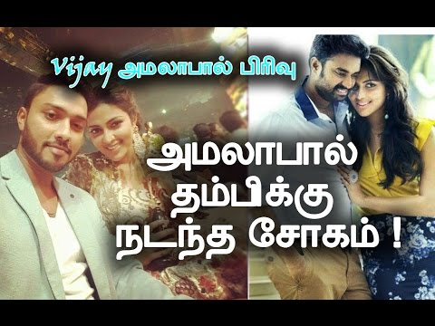 Xxx Mp4 Amala Paul Vijay Divorce Amala S Brother S Tragedy Hot Tamil Movie News 3gp Sex