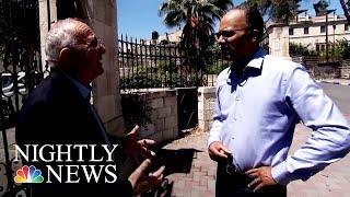 Palestinian Historian Not Sure President Trump Can Broker Peace | NBC Nightly News