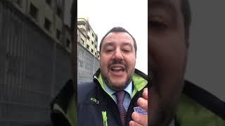 """Salvini: """"A lavoro per controllare che non ci siano nuove palazzine occupate"""""""