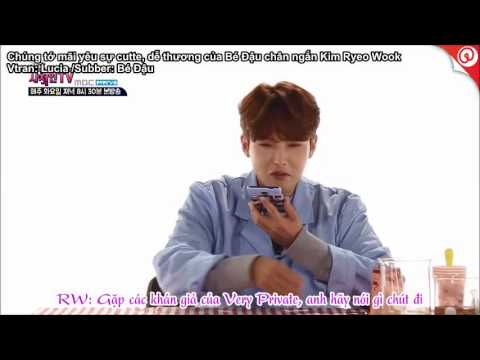 Vietsub Very Private show ep 8 Ryeonggu call Yesung 1