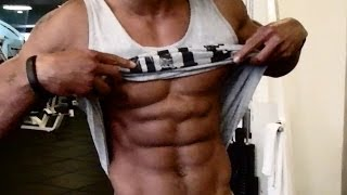 Abs Workout In The Gym - How To Get A 6 Pack Fast (Big Brandon Carter)
