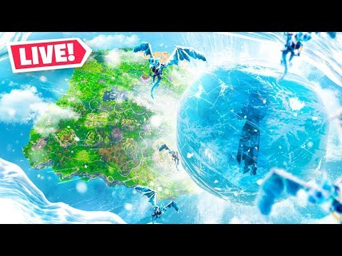 The Fortnite ICE STORM EVENT LIVE