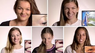 WTA Stars Play a Game of Guess Who