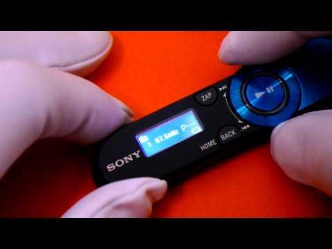 firmware sony walkman nwz b152f