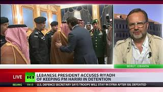 Saudi Arabia holding PM Hariri & family in 'act of aggression' – Lebanese president