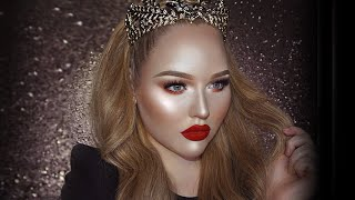 FULL FACE USING ONLY HIGHLIGHTERS Challenge | NikkieTutorials