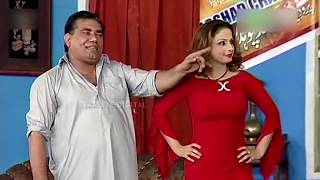 Best Of Nasir Chinyoti and Nida Choudhary New Pakistani Stage Drama Full Comedy Clip