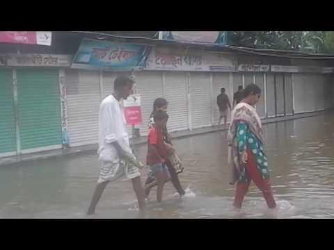 Flood in nageswari kurigram Bangladesh. 13/08/2017