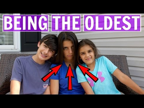 Things Only The Oldest Sibling Will Understand