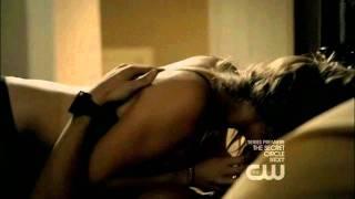 Tyler and Caroline Sex Scene (3x01 - The Birthday, Part 3/4)
