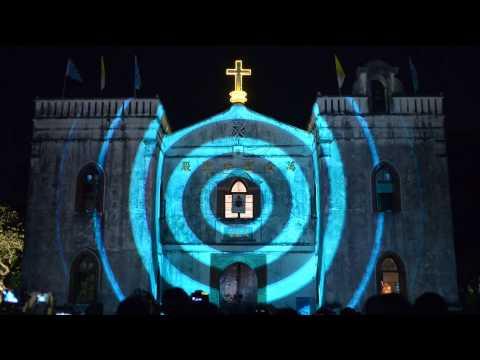 Xxx Mp4 2013 12 08萬金聖母殿3D光雕秀 3gp Sex