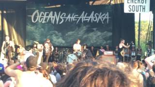 Oceans Ate Alaska Warped tour 2016 Full