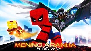 Minecraft: MENINO ARANHA: DE VOLTA AO LAR - O FILME