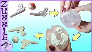 How to Make 2 Part Molds using Oyumaru, No Resin, DIY Clay Push Molds