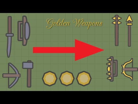EASIEST WAY TO GET GOLDEN WEAPONS!!! // Moomoo.io