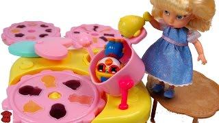 하프의 젤리 메이커 장난감★다잘만들순 없다는 걸 보여주는 예 Make jelly toys/Toy Kitchen Playset