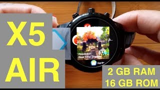 FINOW X5 Air 2GBRAM/16GBROM Smartwatch: Unboxing & 1st Look