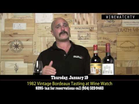 1982 Vintage Bordeaux Tasting at Wine Watch