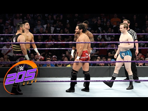 Xxx Mp4 Fatal 5 Way Elimination Match For No 1 Contender To Cruiserweight Title WWE 205 Live Feb 7 2017 3gp Sex