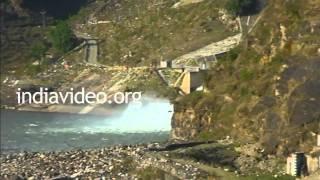 Pandoh Dam, Mandi, Himachal Pradesh
