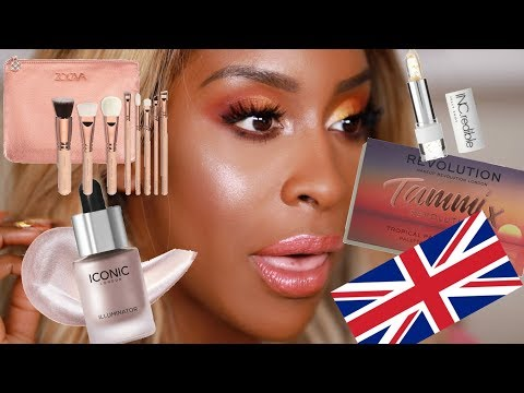 FULL FACE Of Makeup Brands From the UK Jackie Aina
