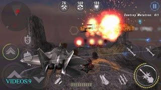 GUNSHIP BATTLE : Destroy Metatron - F-22 Raptor
