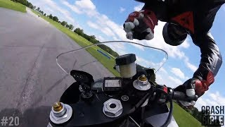 Highspeed POV Superbike Crashes | Trackday Racing 2017