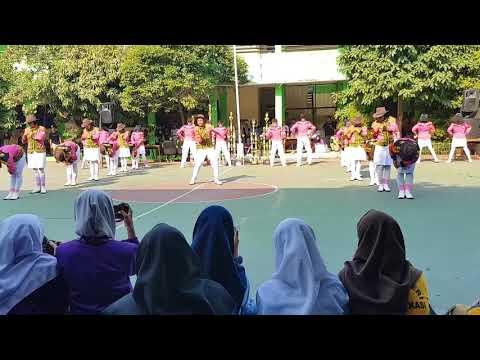 Paskibra BRIGPAS 14 Perform Demo Ekskul MPLS 2018