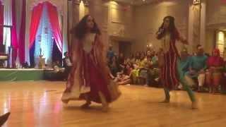 Nasir & Reda's Mehndi Dance