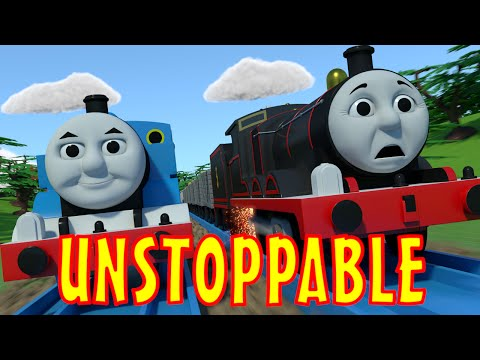 TOMICA Thomas & Friends Short 40 Unstoppable The Adventure Begins Chase & Crash Parody