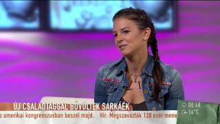 Ezt látnod kell! Ő a Sarka-Hajdú család legújabb tagja! - 2015.09.23. - tv2.hu/mokka