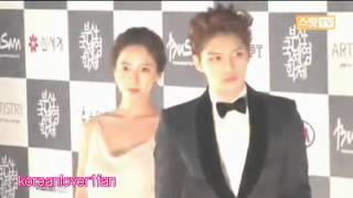 121004 JAEJOONG&SONG JI HYO are a BEAUTIFUL COUPLE!