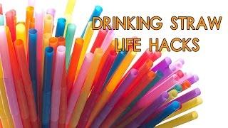 6 Creative Life Hacks with Drinking Straw
