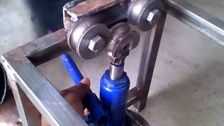 Hydraulic Rod Bending Machine