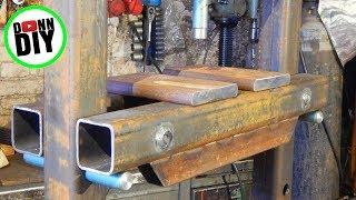 DIY 30 Ton Hydraulic Shop Press